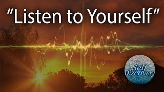 Listen to Yourself | Prem Rawat | Self Discovery #InnerVoice