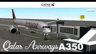 Chicago Plane Spotting (Qatar Airways A350) ll ROBLOX