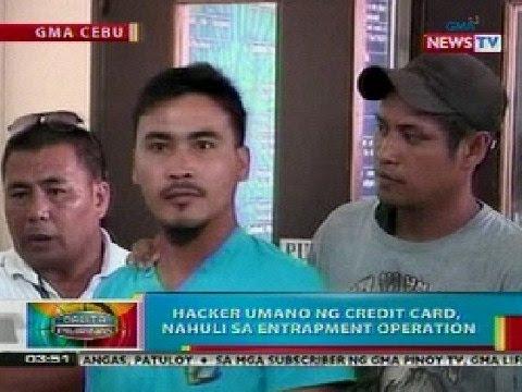 BP: Hacker umano ng credit card, huli sa entrapment operation sa Cebu City