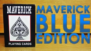 Deck Review - Maverick Blue Edition Playing Cards [HD]