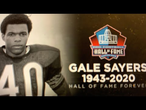 Gale Sayers Passed Away At 77. Chicago Bears Running Back First True Breakaway Back In NFL
