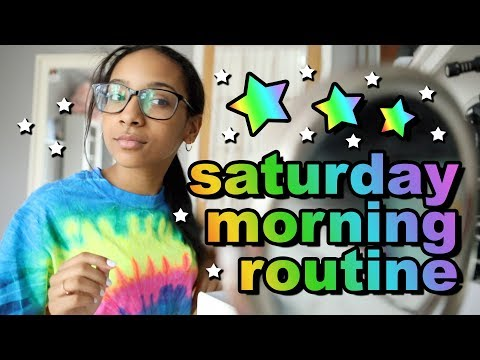Saturday Morning Routine | Morgan Jean