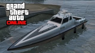 GTA 5 Online - How to Find the Police Boat (Predator)