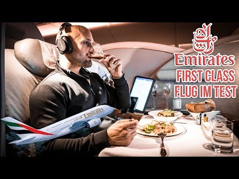 Neue Emirates First Class Suiten im A380 - Ist der Flug sein Geld wert?