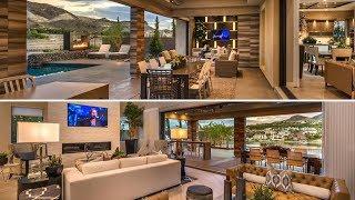 $2.7M Custom Modern Home For Sale Lake Las Vegas, Henderson. Spectacular Golf & Lake Front Views