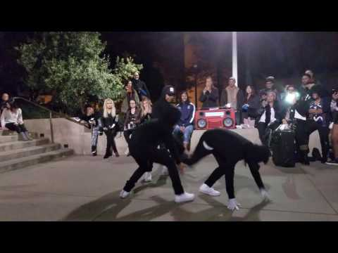 Kida The Great With Art Of Teknique And Les Twins Laurent Freestyling