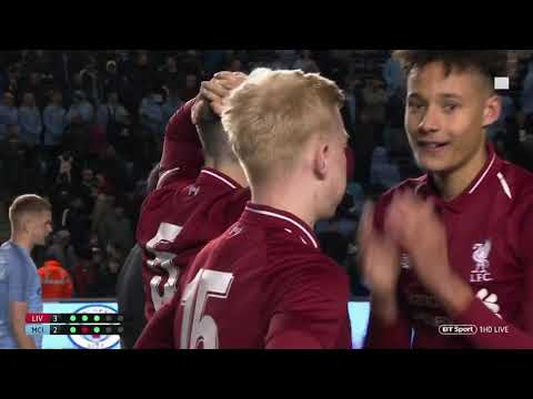 FA Youth Cup Final 2019 - Liverpool V Manchester City - Full Penalty Shootout and Celebrations