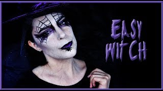 Halloween makeup tutorial Easy Witch | Silvia Quiros