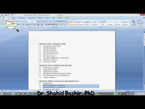 Fundamentals of Research by Dr.Shahid Bashir, PhD