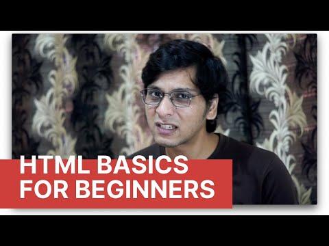 HTML Basics for Beginners - HTML Tutorial for Beginners in English thumbnail