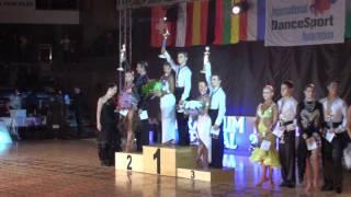 VARADINUM DANCE FESTIVAL 2010 - YOUTH IDSF INTERNATIONAL OPEN LATIN - AWARDS CEREMONY 2