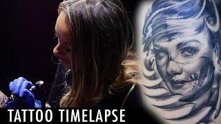 Tattoo Timelapse - Cleo Wattenström
