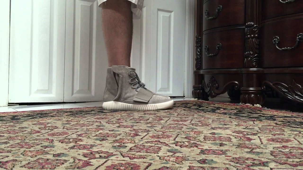 adidas yeezy 750 on feet yeezy boost size 8 authentic