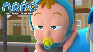 ARPO The Robot For All Kids - Sleepy Baby | | 어린이를위한 만화