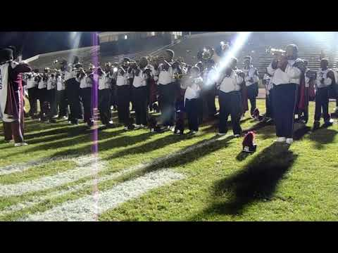 Anniston High School Marching Band Playing Return Of The Mack At Selma High Battle Of The Bands