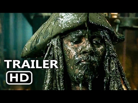 PIRATES OF THE CARIBBEAN 5 Trailer + Super Bowl Spot 2017 Dead Men Tell No Tales, Disney Movie HD