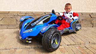 Gift from aliens Funny Dima Unboxing POWER WHEELS Boomerang