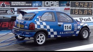 Quickest Vauxhall Corsa In The UK - 9.42 @ 156mph