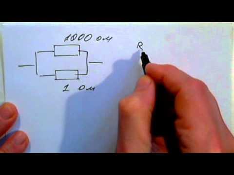 Скачать расчет параллельного соединенья резисторов программа