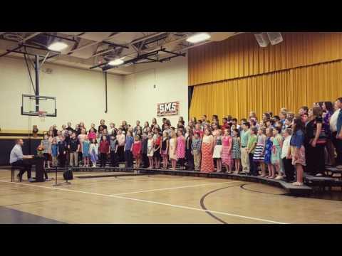 Sedalia middle school 5th grade music program.