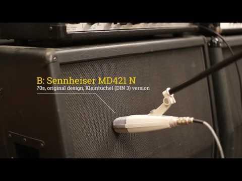 (5150 + Recto Cab) Sennheiser MD421: Modern (II) vs. Vintage (N) A/B Test