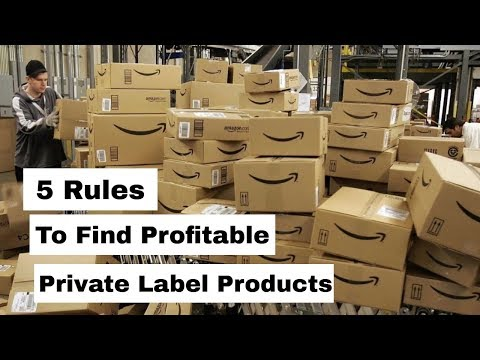 Amazon FBA For Beginners - 5 Tips To Find Great Private Label Products 2019