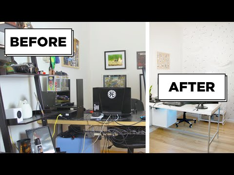 A Gamer's Dream Home Office Makeover