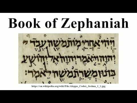Book of Zephaniah