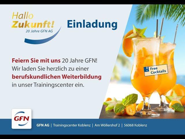 Firmenjubiläum: 20 Jahre GFN - Koblenz feiert