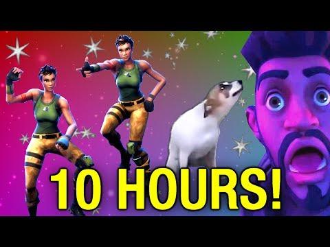 10 HOUR Fortnite Dance Meme - Dance Till You're Dead