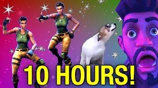 Скачать 10 HOUR Fortnite Dance Meme Dance Till You Re Dead