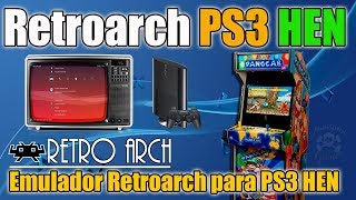 Retroarch en tu PS3 con HEN - Revive lo RETRO !!