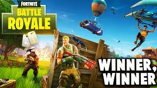 NEW Battle Royale Update! Battle Royal SQUADs Win (Fortnite Battle Royal Multiplayer Gameplay