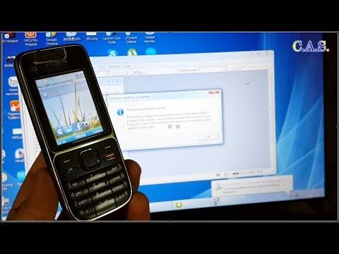 Nokia C2-01 - прошивка программой Phoenix