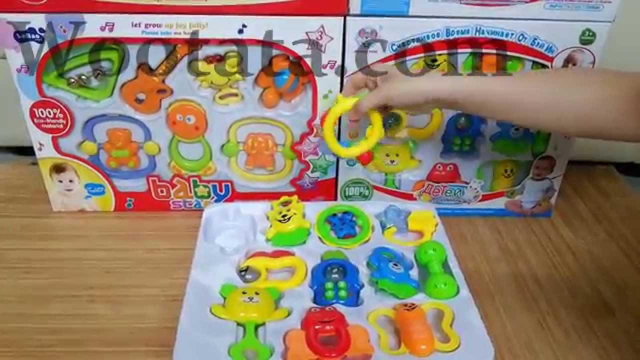 jual baby set mainan bayi 3 bulan murah
