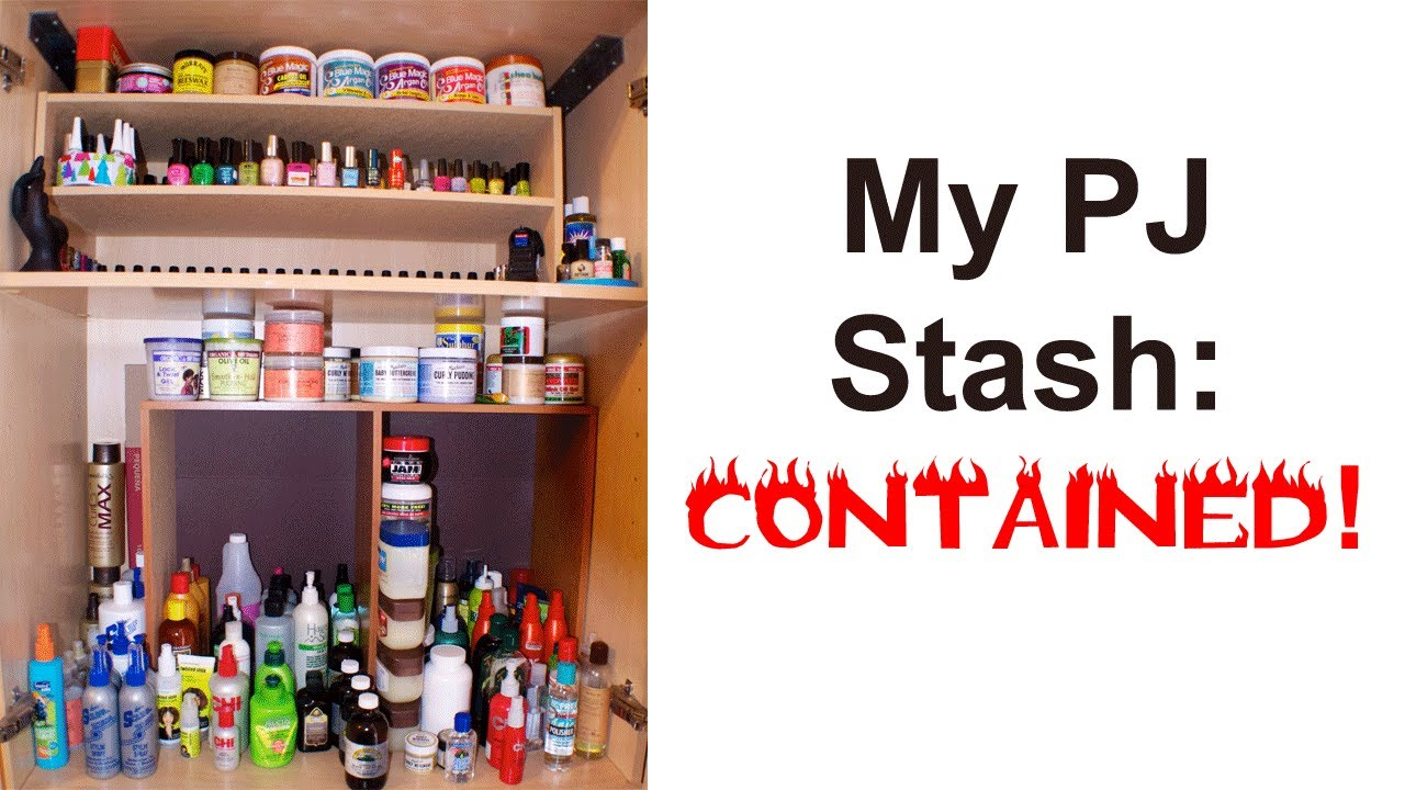 Product Junkie Collection | My Natural Hair Products Stash   YouTube