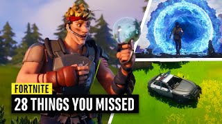 Fortnite | 28 Things You Missed in the Zero Crisis Event