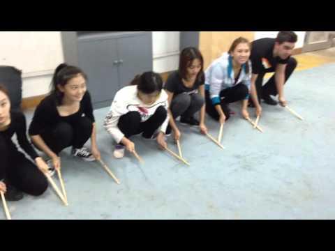 Dynamix Workshop with Shanghai Theatre Academy