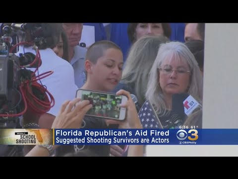 Florida Lawmaker's Aide Fired After Claiming High School Students Are 'Actors'