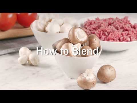 The Blend 101: How to Blend Mushrooms and Meat