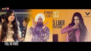 Pendu Jatt (Full Song) || Teddy Singh || Ishani Sharma || Latest Punjabi Song 2016