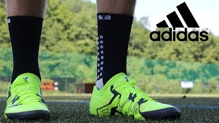 Testing the new Adidas x 15 indoor fustal boots!!