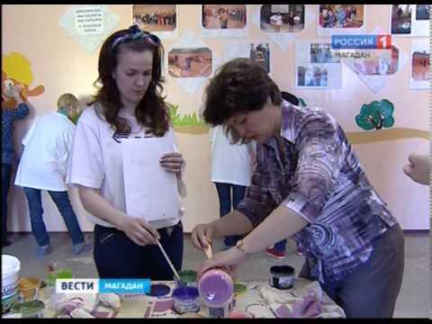 Работники банка ВТБ 24 подарили игровую комнату для детского дома интерната для умственно отсталых д
