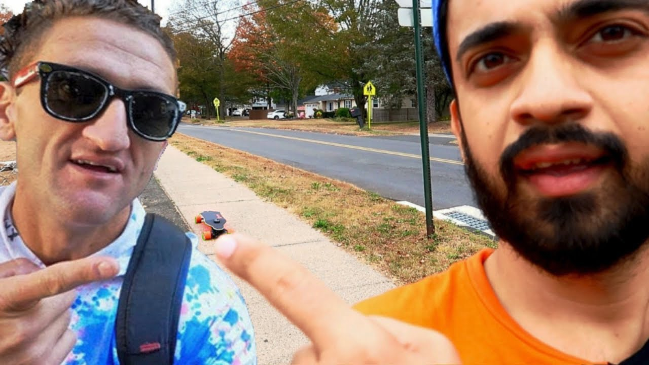 a3f507b6da BUYING THE CASEY NEISTAT BOOSTED BOARD !! - YouTube
