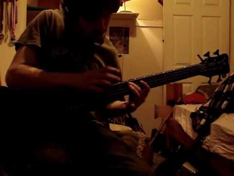 Tempting Time - Animals as Leaders bass cover by John Castberg