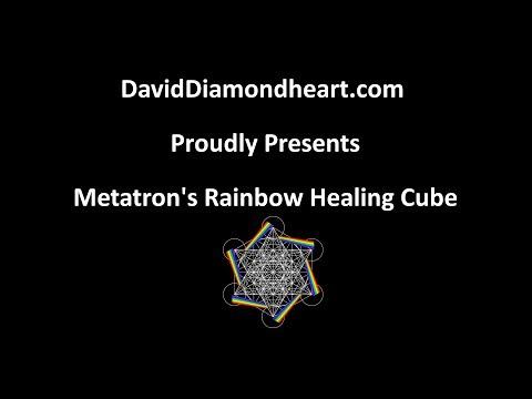 Metatron's Rainbow Healing Cube