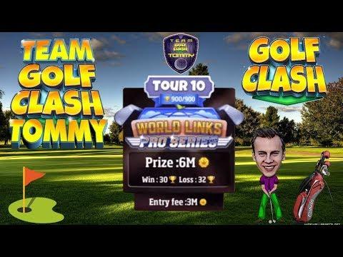 Golf Clash tips, Hole 4 - Par 4, Greenoch Point - Tour 10 World Links, GUIDE/TUTORIAL