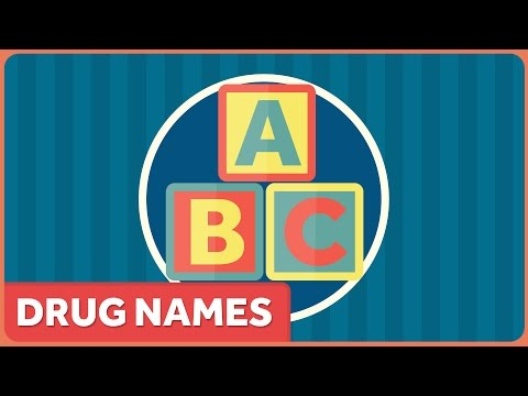 How Do Drugs Get Their Names? from YouTube · Duration:  4 minutes 49 seconds