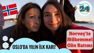 Norveç'teyim! Norveç Saunası ve Oslo'nun Mükemmel Gün Batımı🌅 | Mina Özdemir