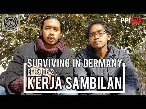 [PPI Jerman] - Surviving in Germany, Eps. 2 Kerja Sambilan